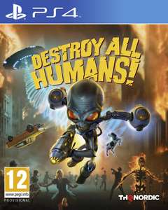 [PS4] Игра Destroy All Humans Стандартное издание