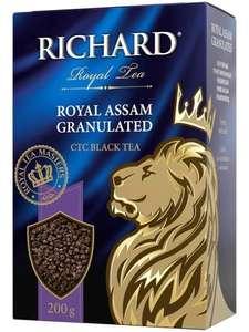 """Чай Richard """"Royal Assam Granulated"""" черный крупнолистовой 200г"""