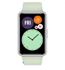 Умные часы Huawei Watch Fit, светло-зеленый