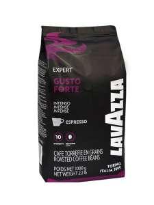 Кофе Gusto Forte в зернах, 1000 гр, Lavazza