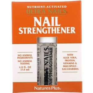 Средство для укрепления ногтей Ultra Nails, Nature's Plus 7,4 мл