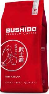 Скидка на всю линейку кофе Bushido (напр. кофе в зернах Bushido Red Katana, 1 кг)