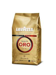 Кофе Lavazza Qualita Oro в зернах, 1 кг
