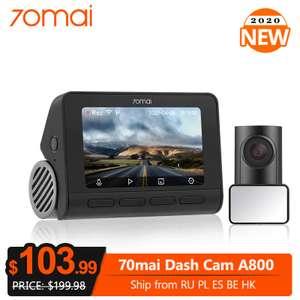 Видеорегистратор 70mai 4K DashCam A800