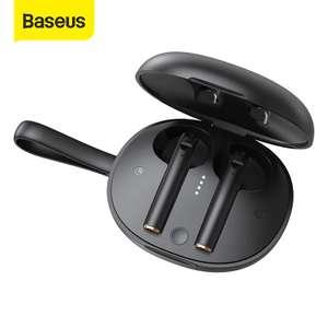 TWS наушники Baseus W05 с беспроводной зарядкой
