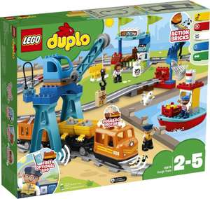 LEGO DUPLO Town 10875 Грузовой поезд