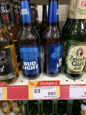 [Спб и возможно другие] Пиво Bud light, 0,47 л.