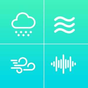 [iOS] Бесплатно White Noise+ Relaxing Sounds (релакс звуки)