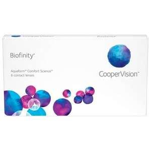 Контактные линзы CooperVision Biofinity 6 линз R 8.6