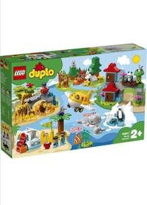 Конструктор LEGO DUPLO Town 10907 Животные мира