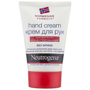 Крем для рук Neutrogena Norwegian formula Concentrated без запаха