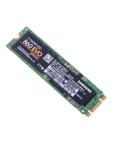 SSD накопитель SAMSUNG 860 EVO MZ-N6E1T0BW 1ТБ, M.2 2280, SATA III