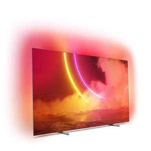"55"" OLED ТВ Philips 55OLED805, Android TV, Ambilight 3, 10 бит, 5700PPI, 100Гц + 21к бонусов"