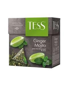 Чай зеленый в пирамидках Ginger Mojito, 20 шт, TESS