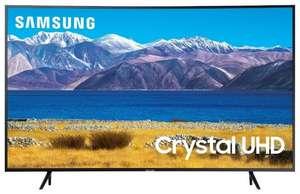 "Телевизор Samsung UE65TU8300U 65"" (2020) с изогнутым экраном"
