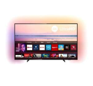 "Телевизор Philips 50PUS6704 50"" (2019) 4K Smart TV"