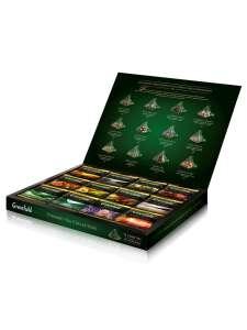 Greenfield - набор 12 видов листового чая и чайного напитка в пакетиках-пирамидках, 60 шт