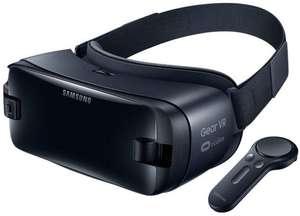 Очки виртуальной реальности Samsung Gear VR с джойстиком (темно-синий)