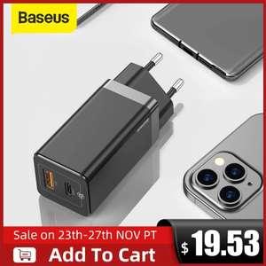 Зарядное устройство Baseus 65 Вт, 2 порта