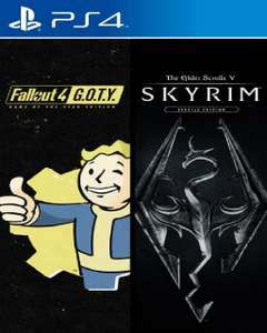 [PS4] Skyrim Special Edition + Fallout 4 G.O.T.Y Bundle
