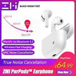 TWS наушники ZMI PurPods pro с активным шумоподавлением