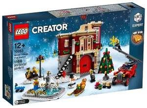 Скидки на эксклюзивы (напр. Lego 10263 Пожарная часть в зимней деревне)