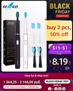Электрическия зубные щётки Seago SG551