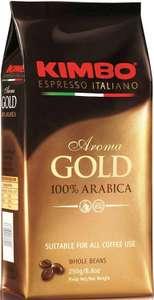 [МО] Кофе в зернах Kimbo Aroma Gold Arabica, арабика, 1000 г