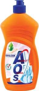 Средство для мытья посуды AOS Бальзам, 450 мл
