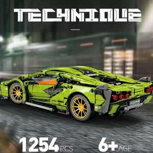 Конструктор: гоночный автомобиль, 1254 детали