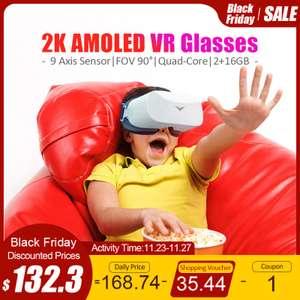 2К VR гарнитура с AMOLED экраном