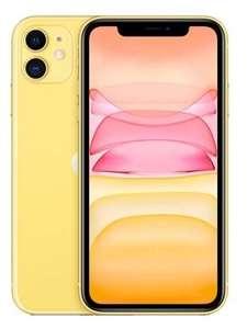 Смартфон Apple iPhone 11 64GB желтый (MWLW2RU/A)