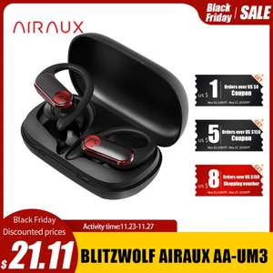 TWS наушники BlitzWolf AIRAUX UM3