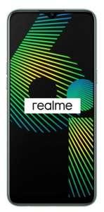[Липецк, возможно, и другие города] Смартфон Realme 6i 4+128GB (белый и зелёный)