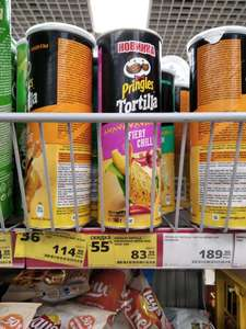 [Брянск] Чипсы Pringles tortilla 160гр