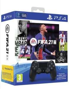 Геймпад Dualshock v2 Black + FIFA 21 PlayStation