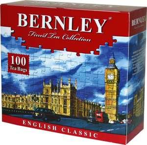 Чай Bernley English Classic черный в пакетиках, 100 шт