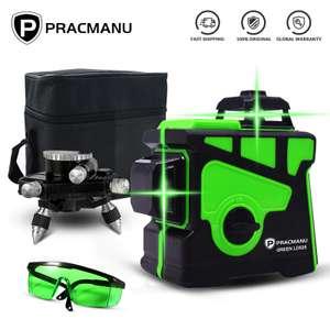 Уровень лазерный PRACMANU, 12 линий