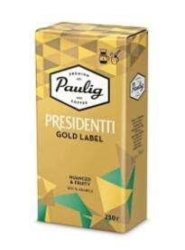 Кофе молотый Paulig Presidentti Gold, 250 г