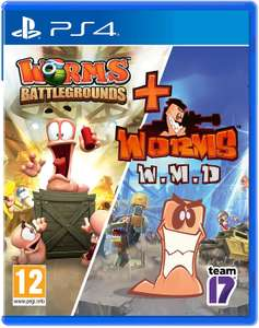 [PS4] Worms Battlegrounds + Worms W.M.D