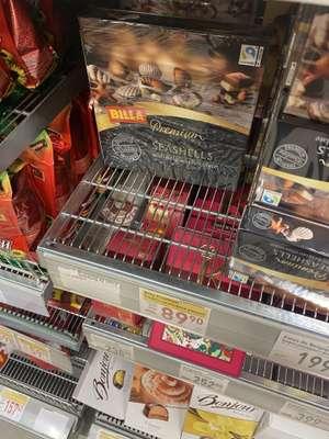 [Мск] Billa Premium шоколадные ракушки, конфеты, 250 гр.