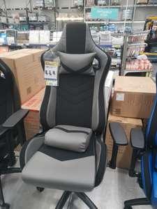 [Киров и др.] Кресло TopChairs Racer Premium. Синий, серый и чёрный цвет