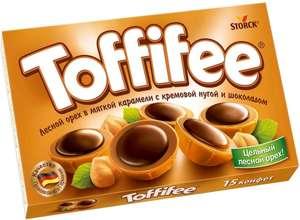 Toffifee конфеты орешки в карамели, 125 г