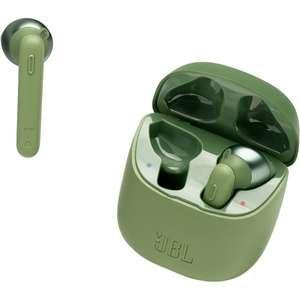 Беспроводные наушники с микрофоном JBL Tune 220 TWS Green (JBLT220TWSGRN)