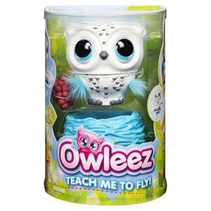 Игрушка Owleez Совенок белый/розовый