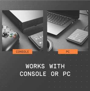 Внешний жёсткий диск WD P10 Game Drive 5 ТБ для консолей и ПК (США - нет прямой доставки)