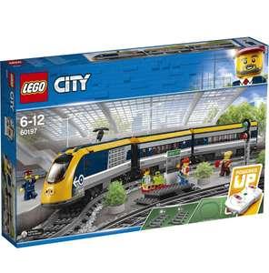 Конструктор LEGO City Trains 60197 Пассажирский поезд