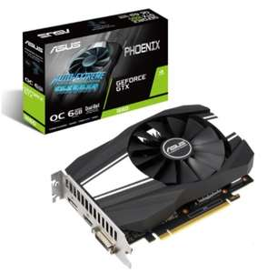 Видеокарта ASUS GeForce GTX 1660 Phoenix OC PH-GTX1660-O6G 6.0 GB OC High End