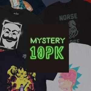 10 случайных футболок на гик тематику (DC, Marvel, Звездные Войны, Игра Престолов и т.д.)