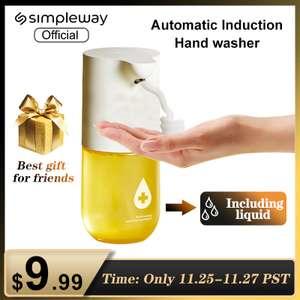 Диспенсер автоматический для мытья рук на батарейках Simpleway ZDXSJ02XW